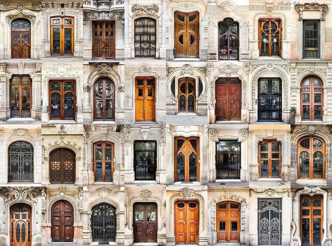 Входные двери Барселоны