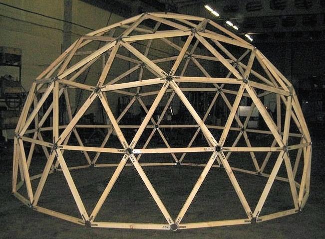 Своими руками купола геодезического